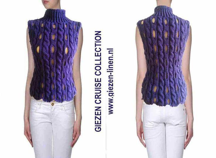 Arm Knitting Vest : Best giezen cruise boat wear ss images on pinterest