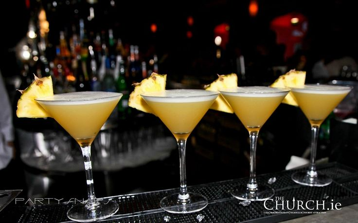 P P P Pineapple #Cocktail #TheChurchDublin #Martini