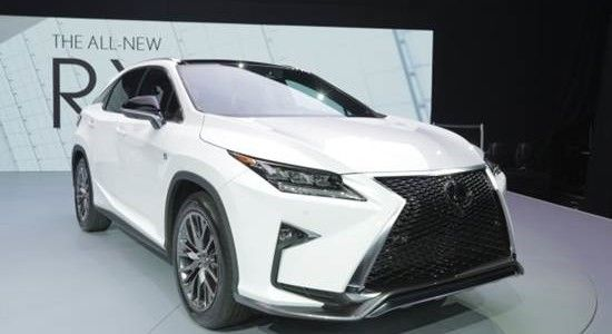 2016 Lexus RX 350 Price and Release in Canada