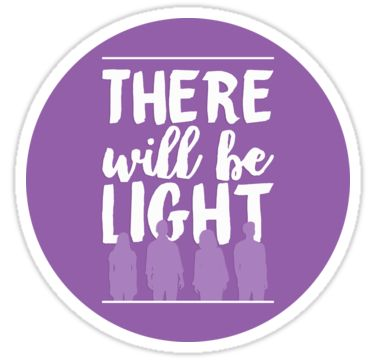 """""There Will Be Light"" - Next to Normal"" Stickers by aimee-draws 