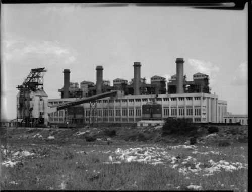 South Fremantle Power Station, 1957