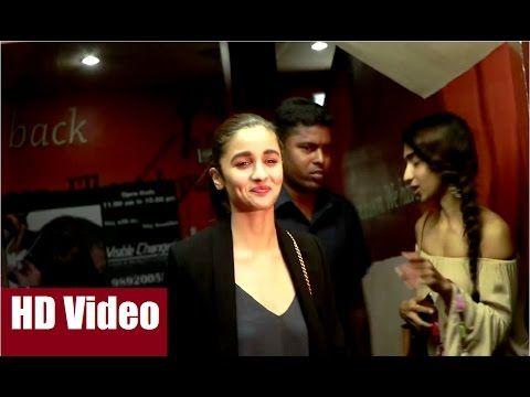 Alia Bhatt spotted at the special screening of AE DIL HAI MUSHKIL at Juhu PVR Cinema, Mumbai.  #aliabhatt #aedilhaimushkil #bollywod #bollywoodnews #bollywoodgossips #bollywoodnewsvilla #news #gossips