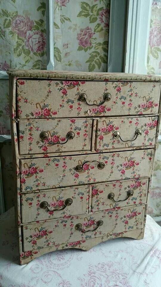 pink rose drawers