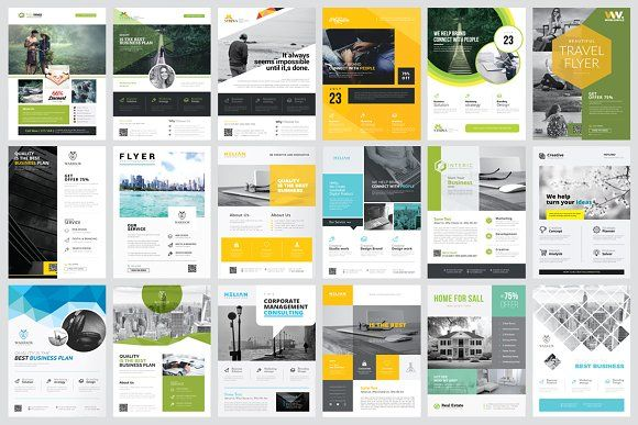 Corporate Business Flyers Bundle by PixWork on @creativemarket Fully editable & easy customizable Poster & Flyer Bundle works perfectly for multipurpose place, Clean and modern templates with catchy design will help to showcase your work in the best way possible.  Every template is compatible with Adobe Illustrator C5 . Simply drop your content into the template, save it and enjoy! ❤  Affiliate ad link.