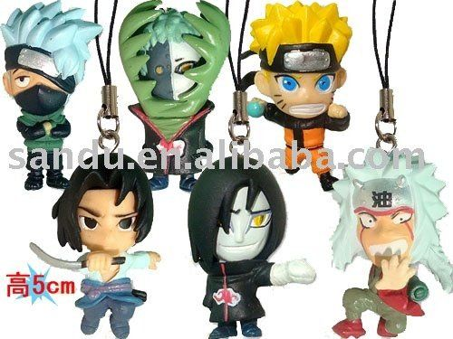 mobilephone charm of naruto anime accessories