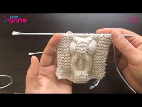 Burgulu Kemer Modeli Yapımı - Örgü Modeli - YouTube
