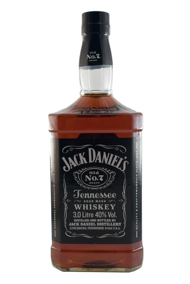 Jack Daniels, 3 Liter Flasche / 40% vol (3L)