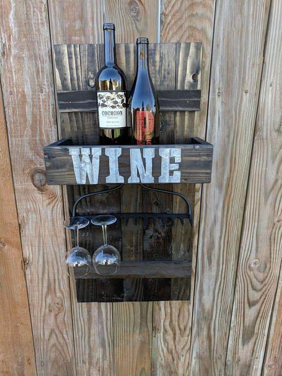 Hey, I found this really awesome Etsy listing at https://www.etsy.com/listing/570175365/rake-head-wine-rack-wine-glass-rack-rake