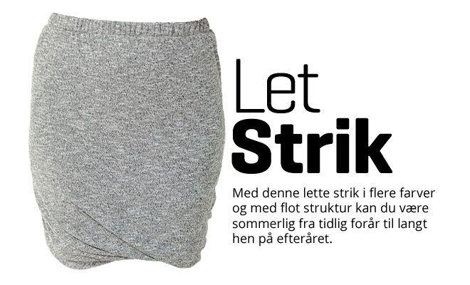 Let Strik - Stof & Stil