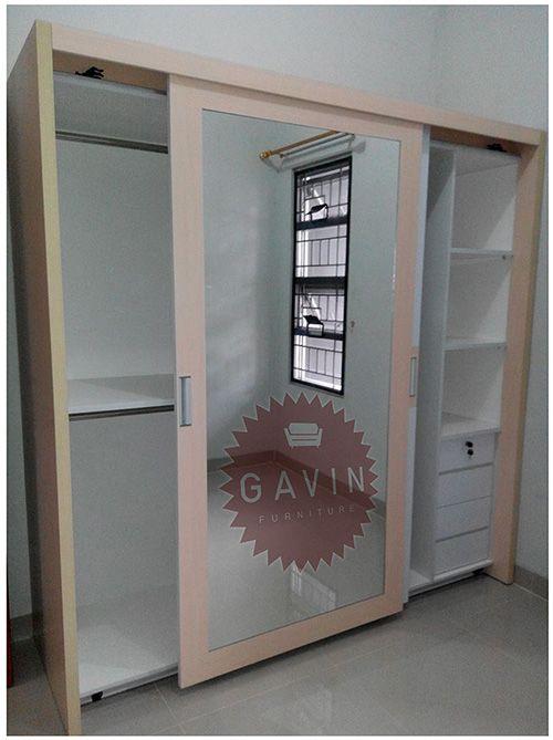 lemari pakaian maupun lemari dapur pesan secara custom Lemari Pakaian Sliding HPL Di Taman Sari Jakarta Barat Lemari pakaian sliding produksi Gavin furniture di taman sari jakarta barat berikut ini…