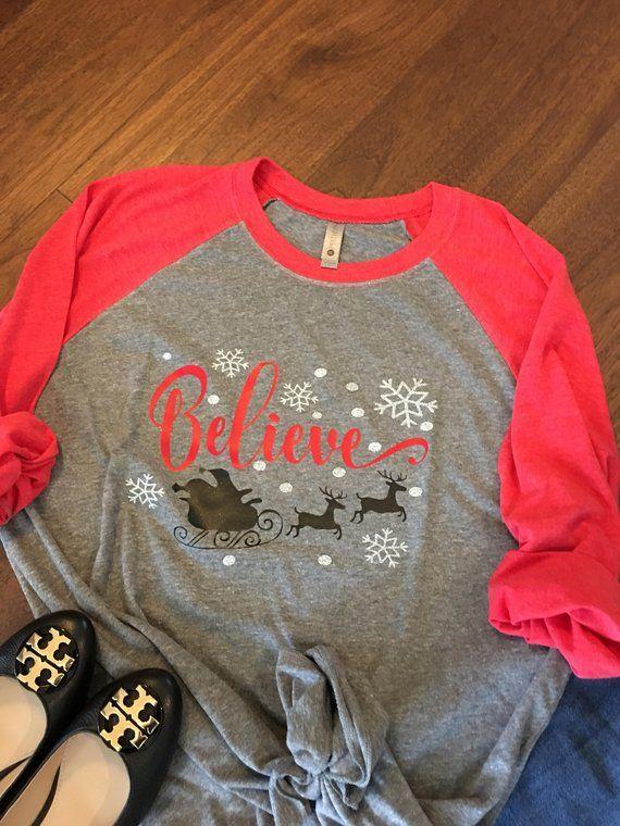 e05b1eca Christmas shirt,For Women,Holiday Shirt,Women's Christmas,Christmas  Raglan,Christmas Shirts,Womens Christmas shirts,Christmas tshirt, Raglan