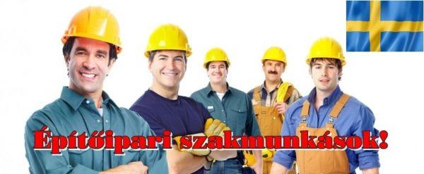 Jelenleg:  - 1 fő Vízvezeték szerelő - 1 fő Villanyszerelő - 4 Asztalos szakmunkást keresünk még Svédországba.  Kezdés a jelentkezés elbírálása után azonnal lehetséges.  Elvárások: Pontos, precíz szakmunka, tehát gyakorlattal rendelkező szakembereket keresünk.  A munka társasházi lakások felújítása.  Amit a cég biztosít: - Magyarországi bejelentetés, egy 10 éve Svédországban működő magyar cégnél. - Szerszámokat. - Munkaruhát. - A szállást a cég ingyen biztosítja. - Kiutazás költségét a cég…