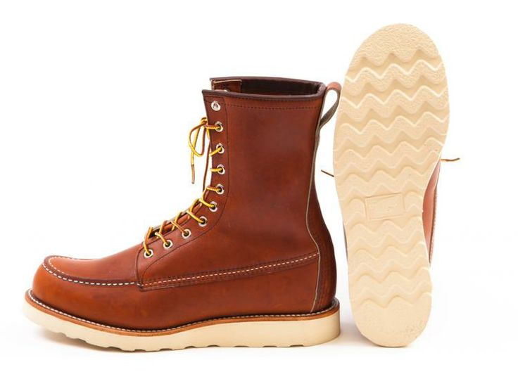 """Red Wing Shoes — Red Wing Shoes - 877 8"""" Classic Moc Oro Legacy"""