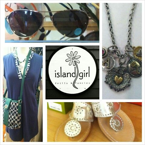 Islan Girl, a great store with amazing items. There are 2 locations: coligny plaza and south beach marina. It's Iocally owned and operated making it unique to HHI. Major lines sold: Toms, Toms Eyewear, Spartina, Lilly Pulitzer Alex and Ani, Spartina, Jack Rogers, Hobo, Miss Me, Lenny and Eva, Waxing poetic. So stop on by sometime and check them out.