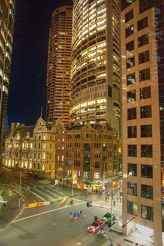 Downtown Sydney, NSW, Australia