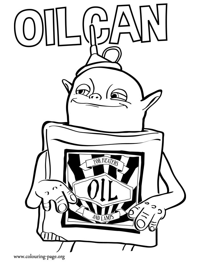 Meet Oil Can He Is A Small And Very Cute Boxtroll Have Fun Coloring