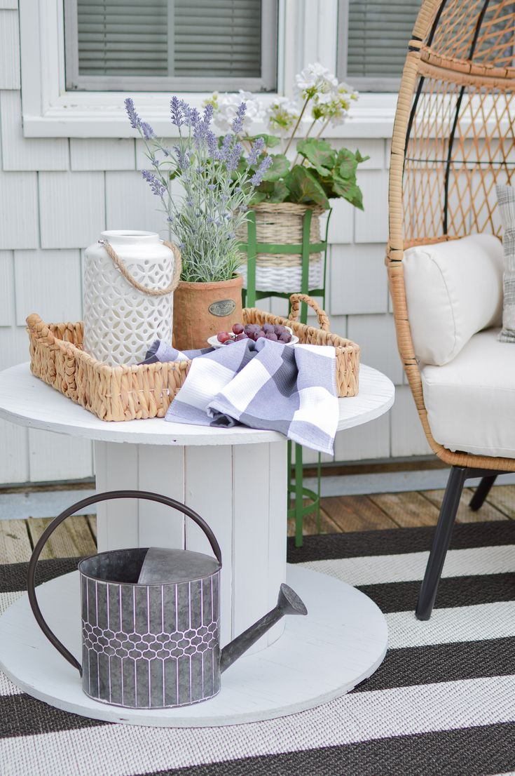 Cozy Spot For One Spring and Summer Deck Refresh How to