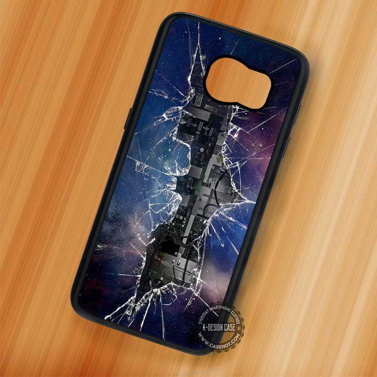 Cracked Out Logo Batman Galaxy - Samsung Galaxy S7 S6 S5 Note 7 Cases & Covers