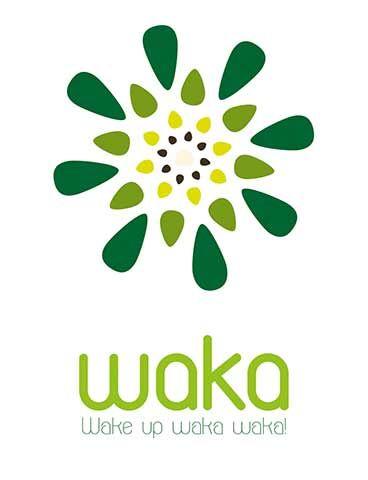 "Moringa ""Wake up waka waka"" logo desing"