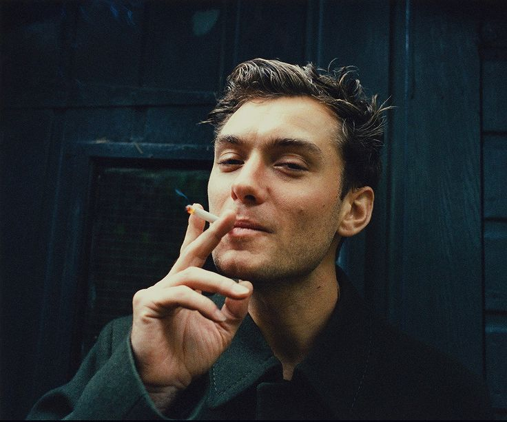 Jude Law. lemme take a puff of dat ciggy