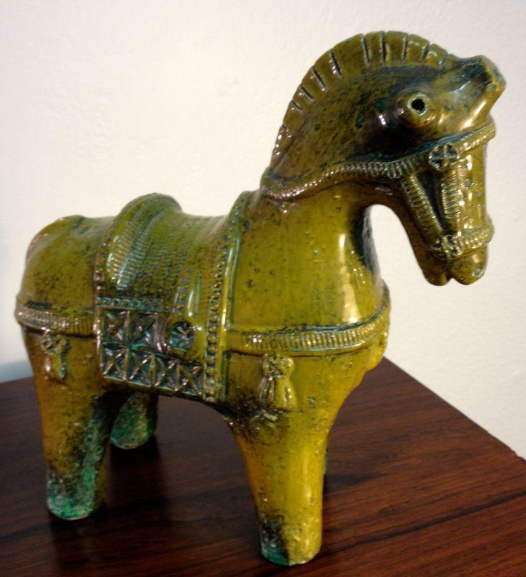 Raymor Bitossi Italy Pottery Horse