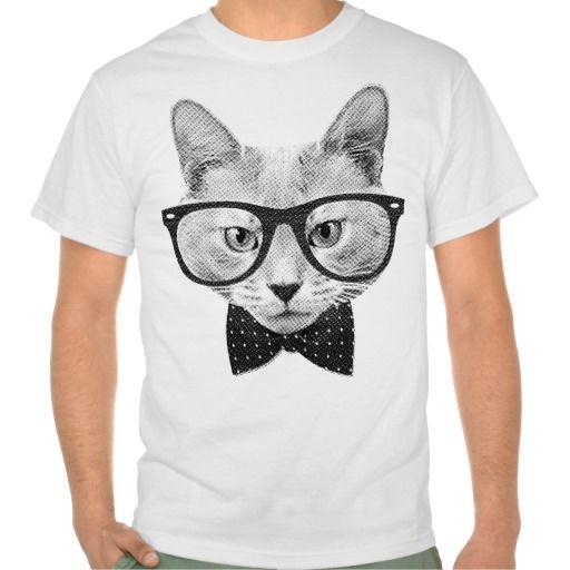 Vintage hipster cat tee shirts T Shirt, Hoodie Sweatshirt