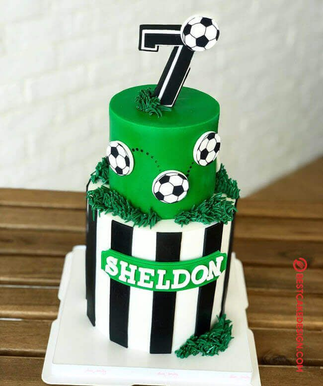 50 Soccer Cake Design Cake Idea October 2019 In 2020 Soccer Cake Football Themed Cakes Football Cakes For Boys