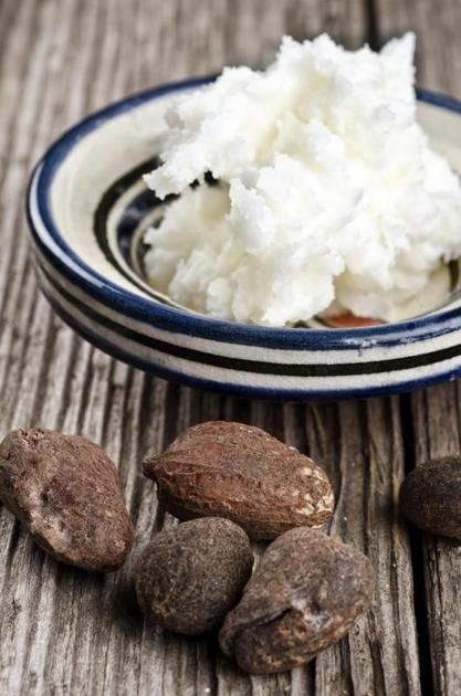 Shea butter comes from the seeds of the African shea tree. Although it's primarily used in cosmetics for its healing and moisturizing benefits, the butter is edible and used often in African cooking. You'll find shea butter in both refined and unrefined forms. Refined shea butter goes through more processing and chemical treatment than raw...