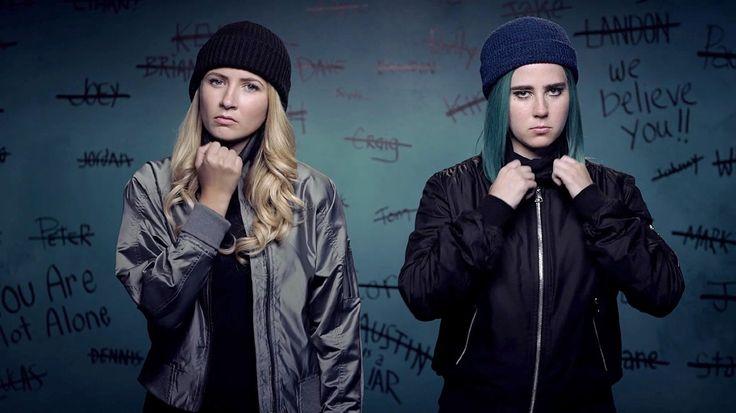 Eliza Bennett and Taylor Dearden in Sweet/Vicious MTV Series