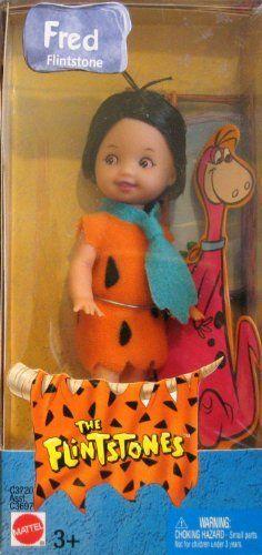 Barbie The Flintstones Kelly Doll TOMMY Fred Flintstone (2003). #Barbie #Flintstones #Kelly #Doll #TOMMY #Fred #Flintstone