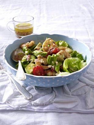 Das Rezept für Avocado-Salat mit Garnelen und weitere kostenlose Rezepte auf LECKER.de
