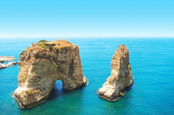 Pigeon Rocks, Libanon