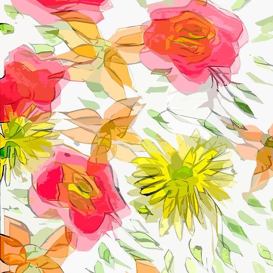 ORANGES AND LEMONS FLORAL ILLUSIONS BY ART AND SOUL MAMMA