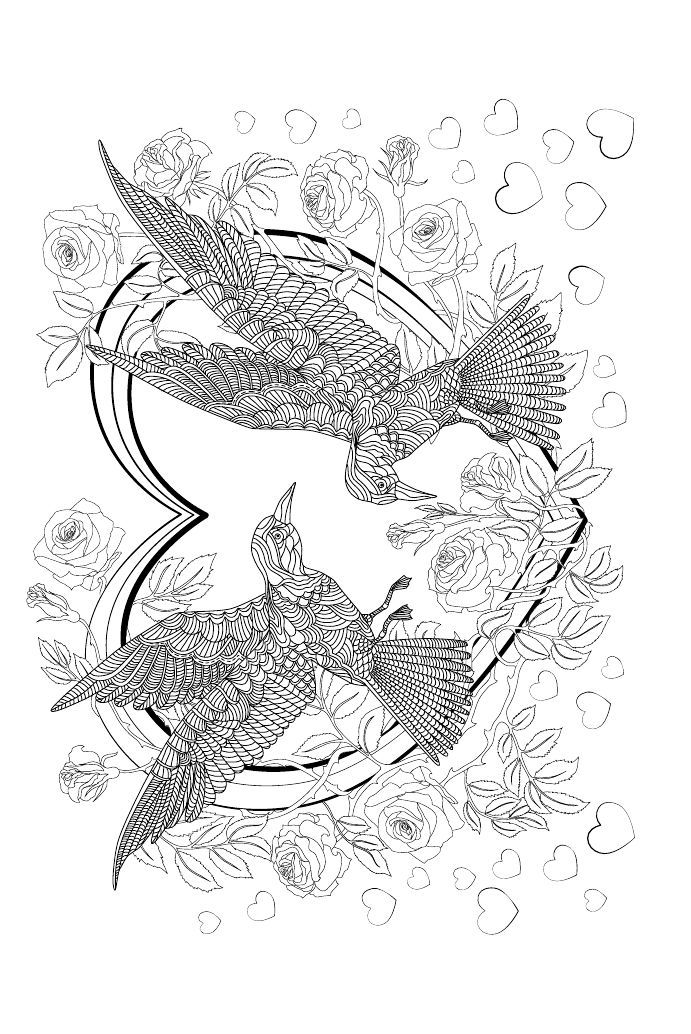 Руководителю, на крыльях счастья открытки-раскраски