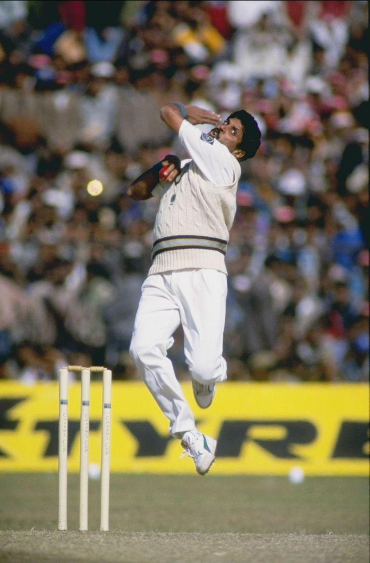 Kapil Dev's action was more like a dancing style, but effective.
