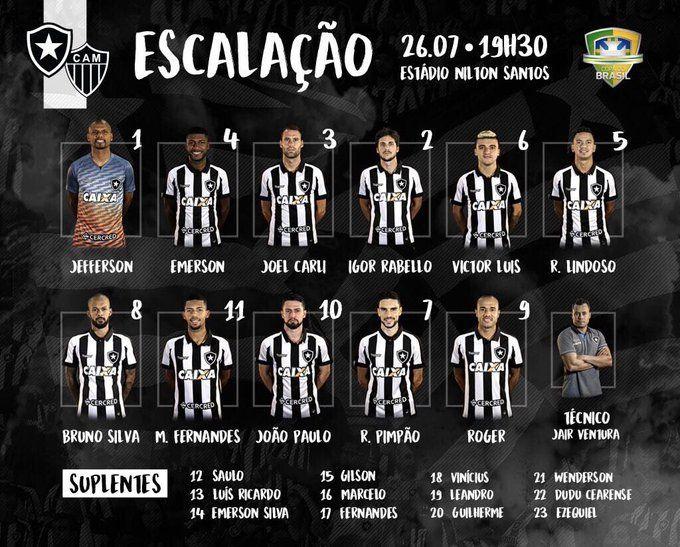 Botafogo x Atlético-MG - Copa do Brasil 2017 - Ao vivo - globoesporte.com