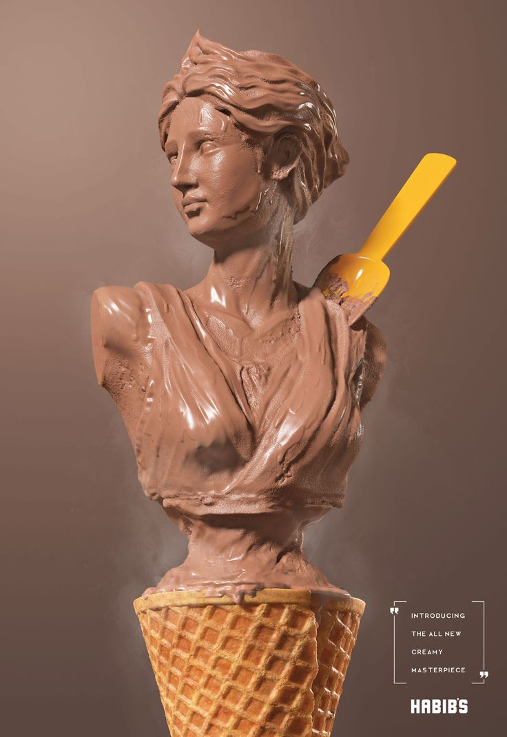Habib s ice cream sculpture adeevee