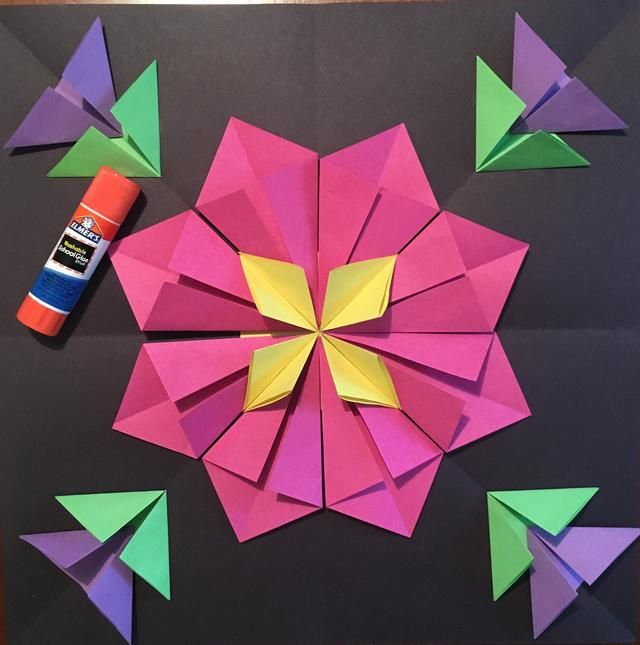 How To Create A 3d Radial Symmetry Paper Sculpture Recipe