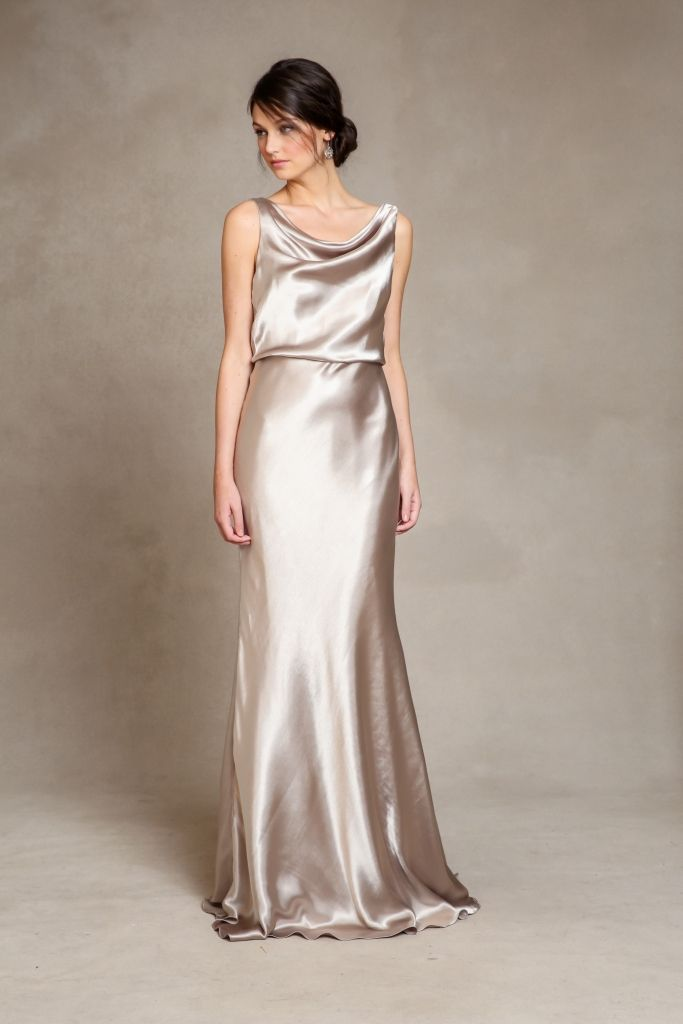 Metallic bridesmaid dresses 'Madelyn' by Jenny Yoo