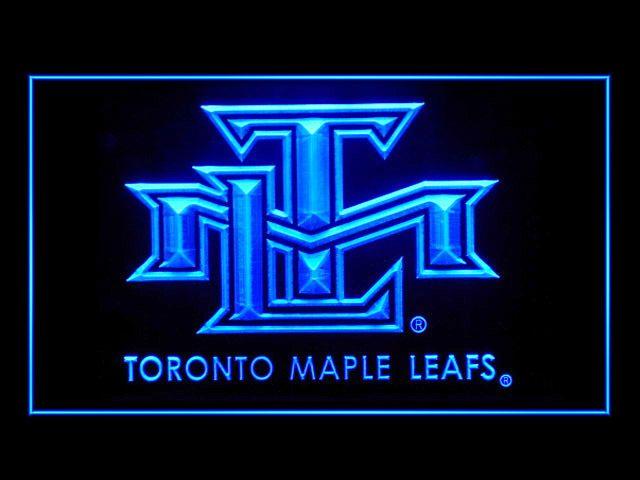 Toronto Maple Leafs Logo Hockey Display Light Sign
