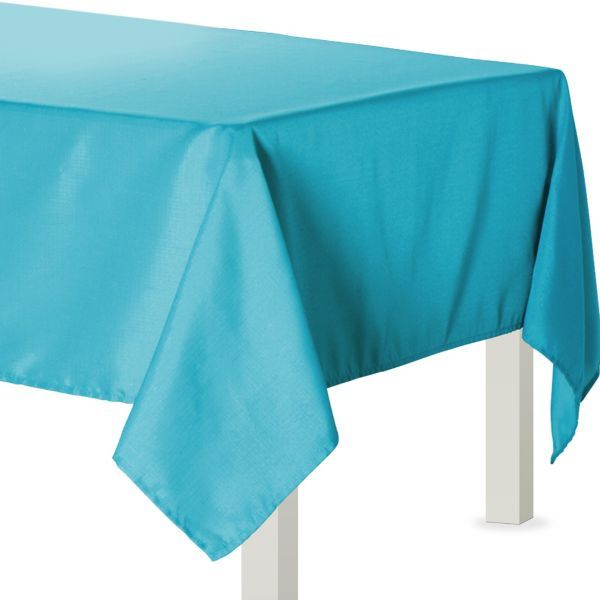 Caribbean Blue Fabric Tablecloth Tablecloth Fabric Blue Fabric