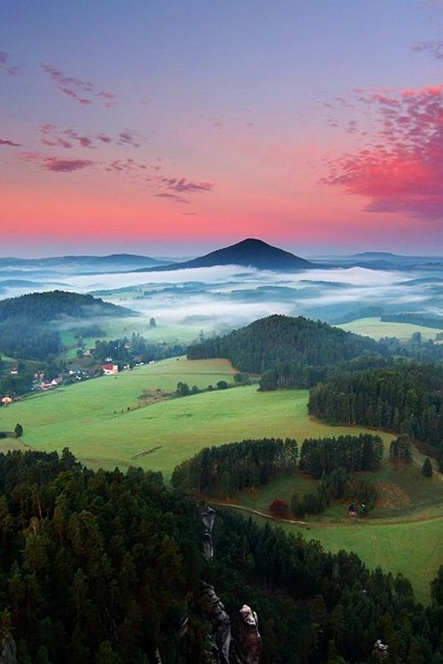 Bohemian Switzerland, also known as Czech Switzerland