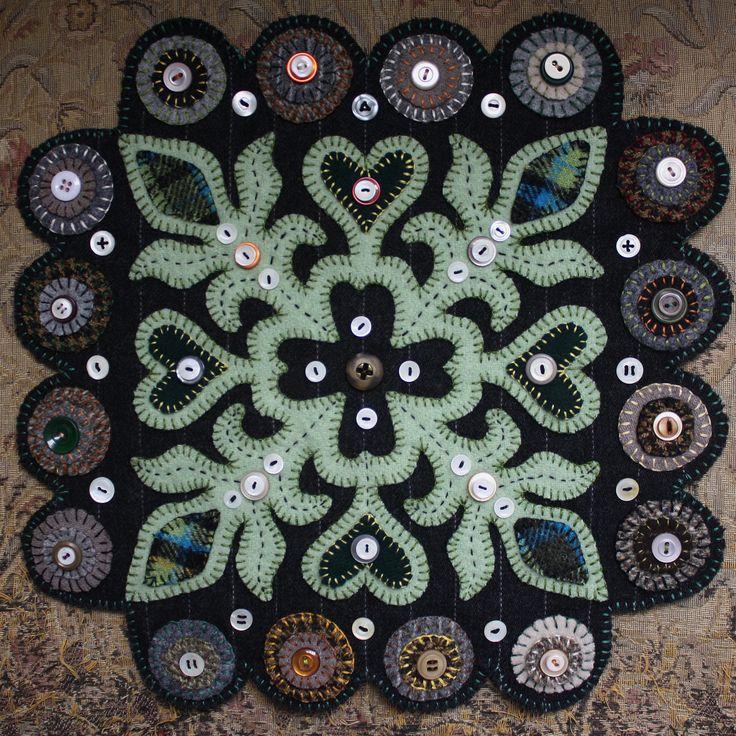 penny+rugs | Wool Penny Rugs | Ashton Publications