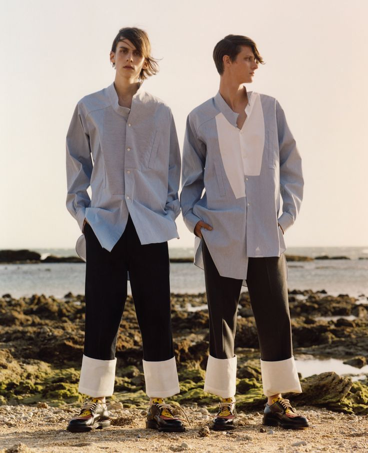 J.W. Anderson Debuts Loewe Spring/Summer 2015 Collection image Loewe 2015 Spring Summer Collection Men JW Anderson 004