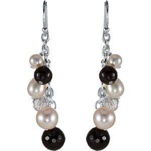 Dangle Earrings, Lumberton, Texas, Pearl Earrings, Groves, Beaumont, TX