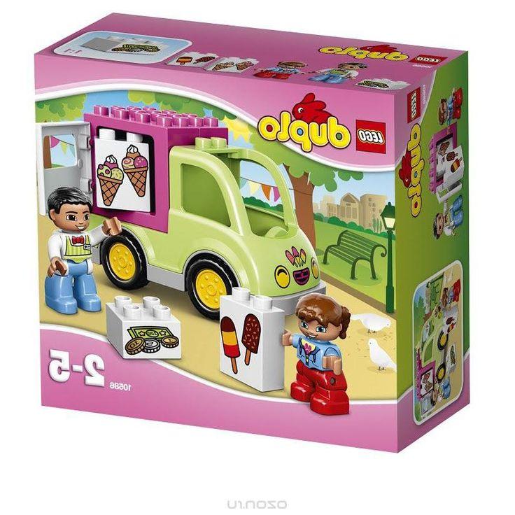 Lego Duplo Конструктор Фургон с мороженым 10586