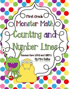Students developing a sense of numeracy begins with sorting and counting objects. This resource includes lots of practice with counting by one, five and ten, as well as counting on and counting back, using a number line and a hundred chart. Appropriate for late kindergarten or early first grade practice, this packet is aligned with the Common Core Standards and with the TEKS. This unit provides a rigorous path that leads students into the next levels of learning.  $