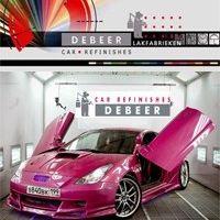 Automotive paints at its Best #DeBeer #Paint