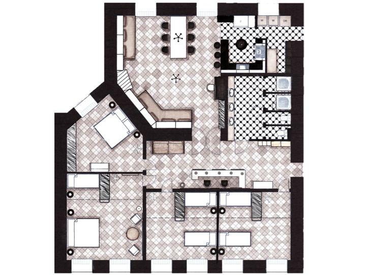 Hostel plan