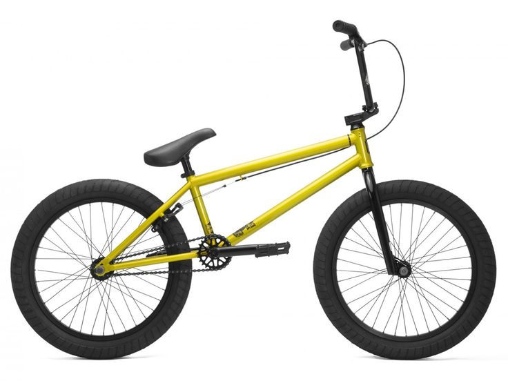 "Kink Bikes ""Launch"" 2017 BMX Bike - Gloss Lime Gold | kunstform BMX Shop & Mailorder - worldwide shipping"